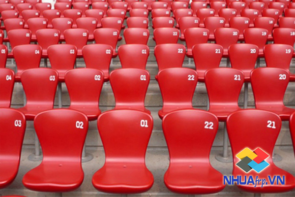 Ghế nhựa composite sân vận động