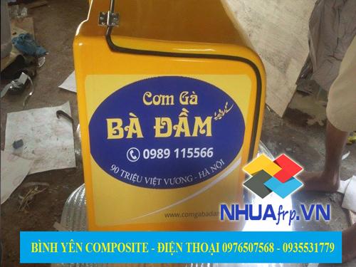 Bán thùng chở hàng thực phẩm bọc composite giá rẻ