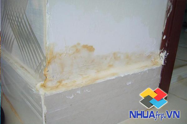 Bọc phủ chống thấm nền, tường, mái công trình bằng composite